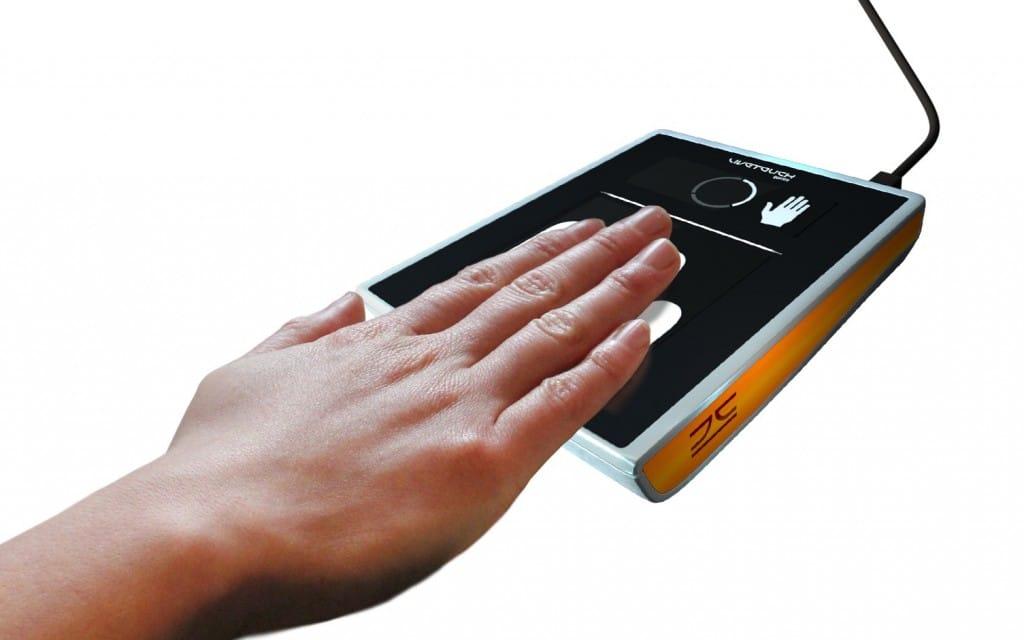 JENETRIC fingerprint sensor combines user display and fingerprint capture area