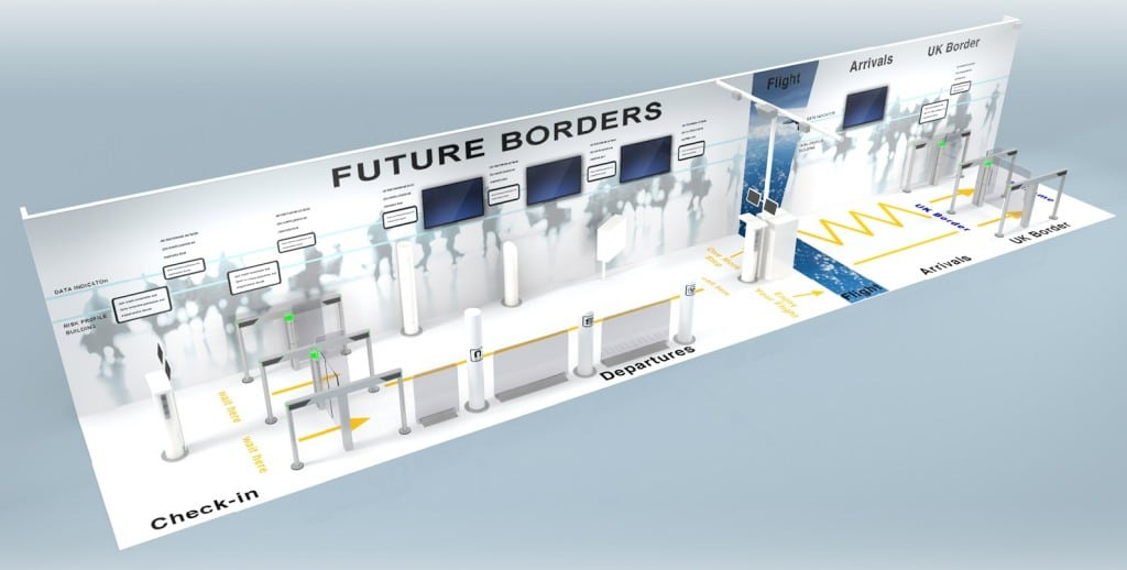 Croma Security Solutions demonstrates biometric border control at expo