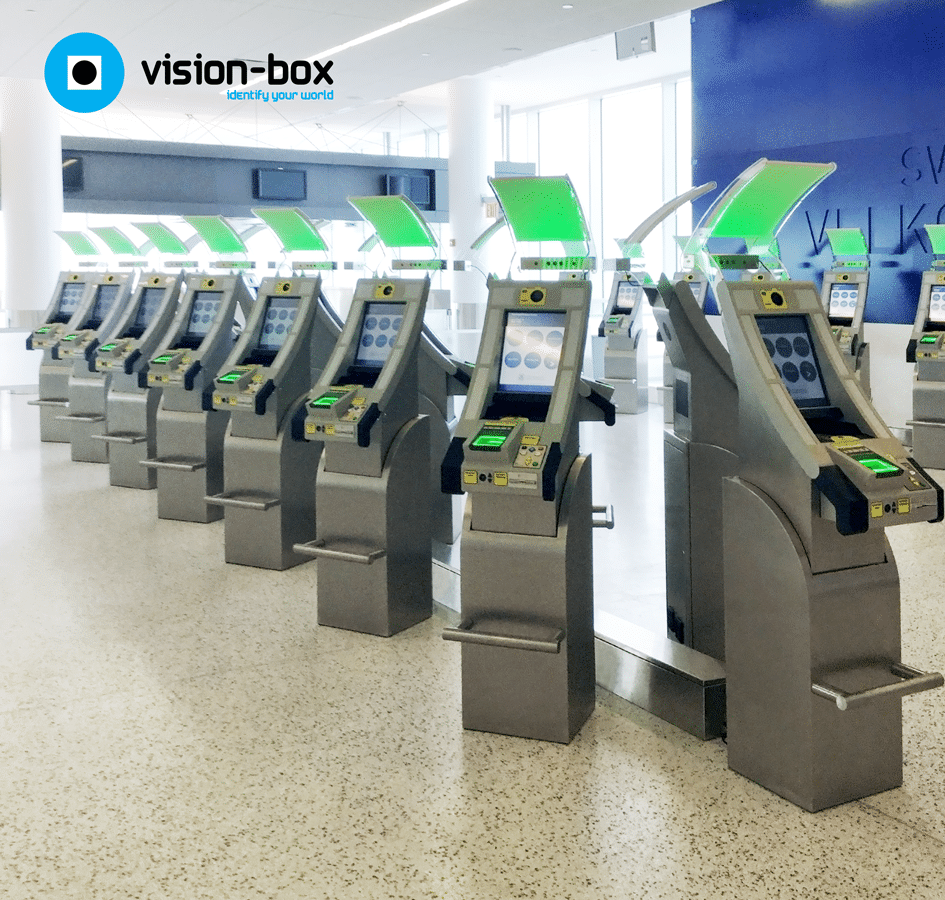 Biometric passport authentication technology by Vision-Box deployed at JFK airport