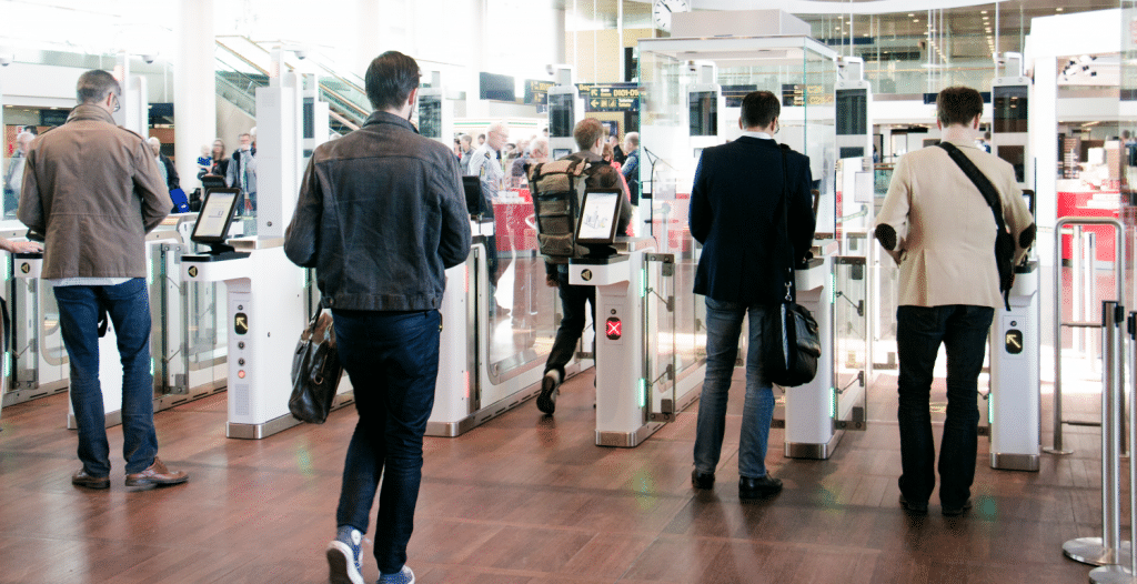 Vision-Box automated border control system deployed at Copenhagen Airport