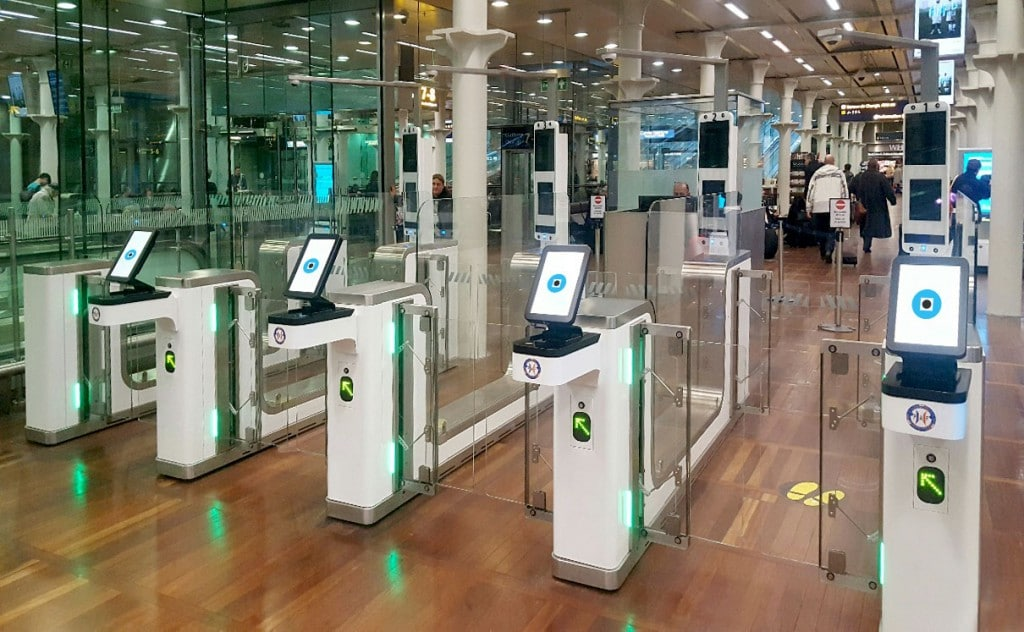 Eurostar pilots biometric border control solution at French rail station