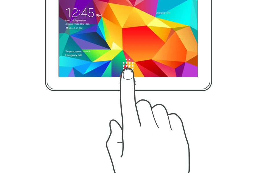 Samsung firmware release confirms embedded fingerprint sensor for Galaxy Tab S
