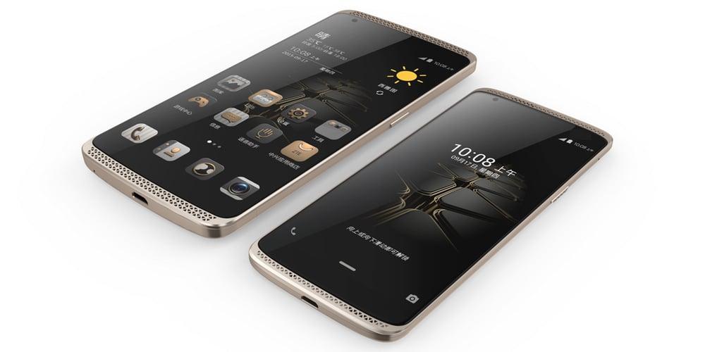 ZTE AXON mini smartphone features multi-factor biometric authentication