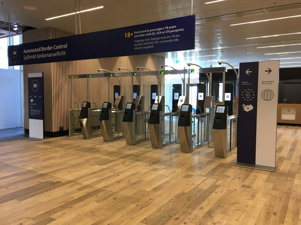 First automated border control system in Iceland begins operation