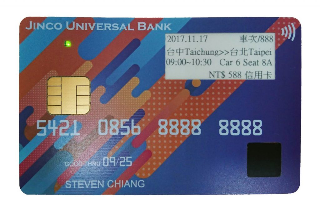 Facial biometrics smart card