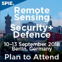 SPIE Remote Sensing and SPIE Security + Defence 2018