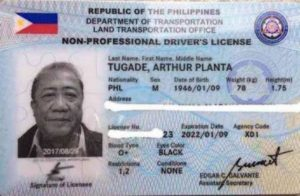 Philippines-biometric-driver's-license