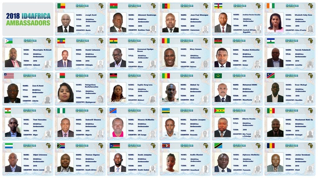 ID4Africa appoints Ambassadors from 29 countries for 2018