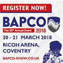 BAPCO Annual Conference and Exhibition 2018