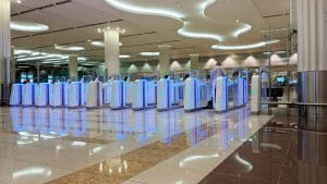 Vision-Box SmartGates project - DUBAI