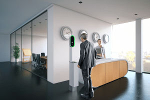 InSight One ID Station - Visitor Management - Composite Image