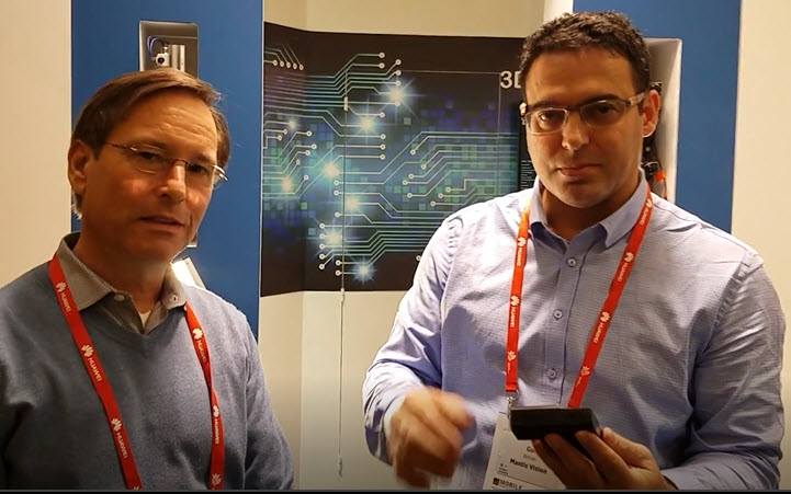 George Brostoff, CEO of SensibleVision and Gur Arie Bittan, Co-Founder and Chief Executive Officer of Mantis Vision