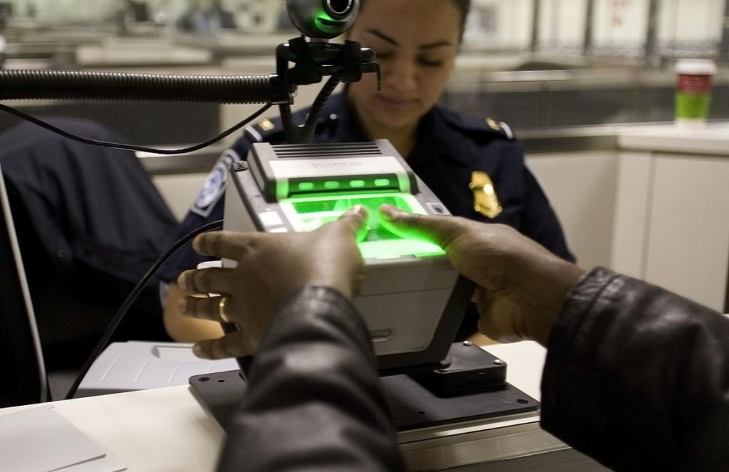 DHS agencies responsible for biometric exit/entry data would be formalized by new legislation