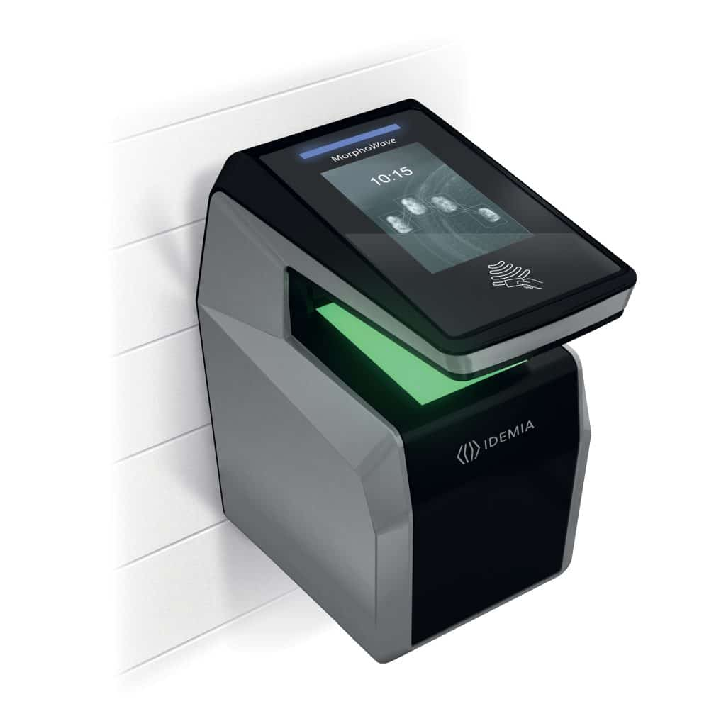 IDEMIA's new compact access control terminal features touchless 3D fingerprint tech