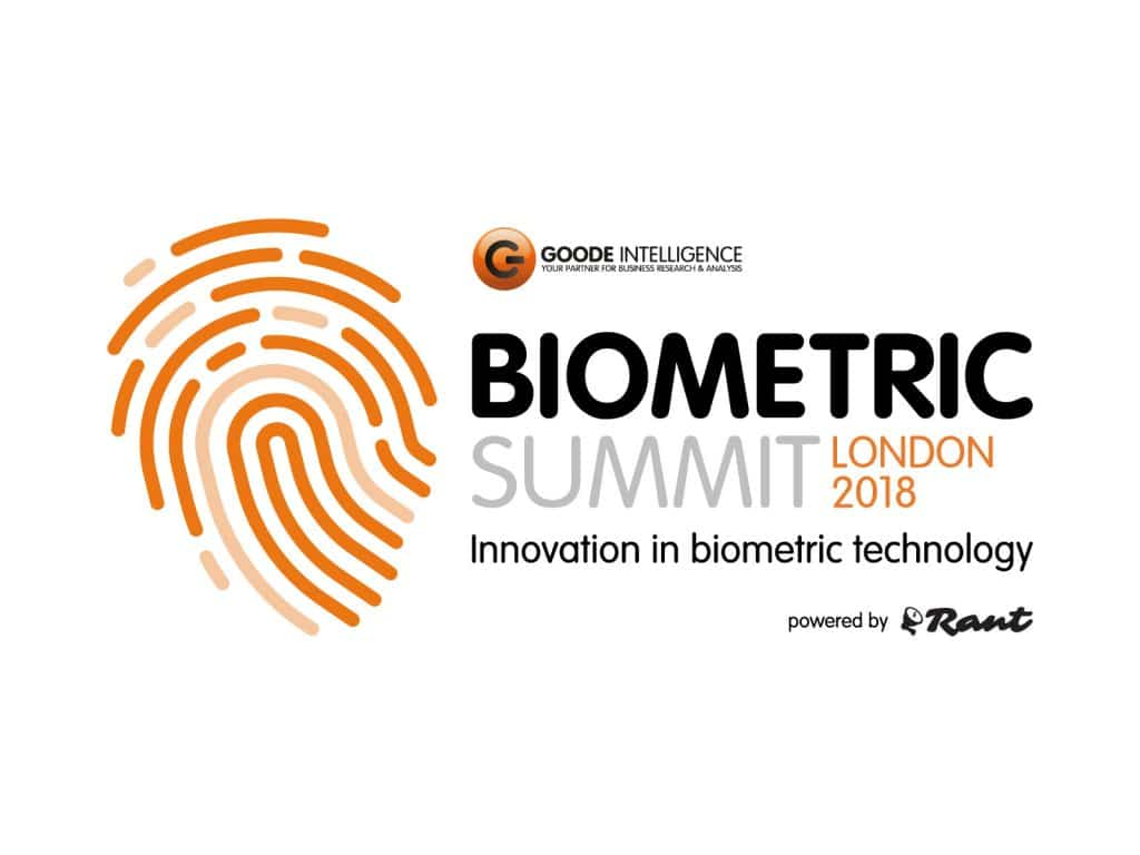 The Goode Intelligence Biometric Summit London 2018