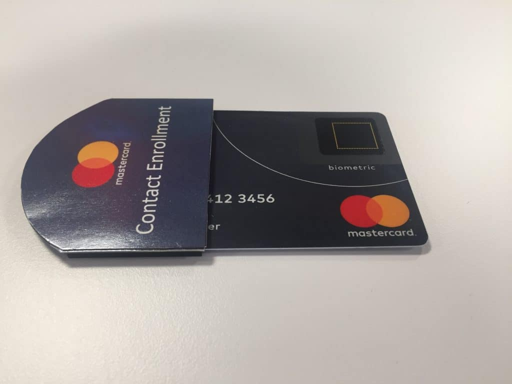 Biometric payment cards' path to mass market