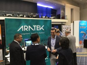 Visitors-at-the-@AratekBio-booth