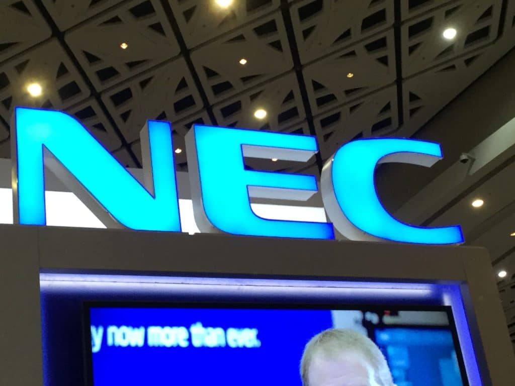 NEC America's Biometric Center of Excellence certified to ISO quality management standard