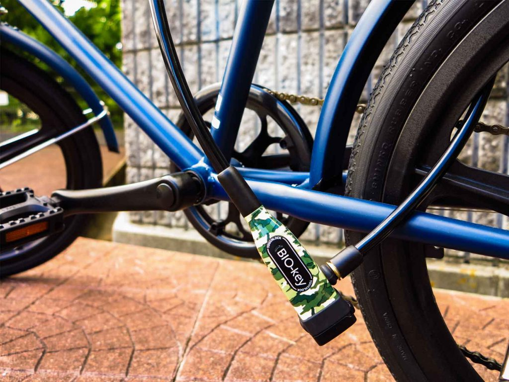BIO-key names distributor of its biometric bike locks for Japan