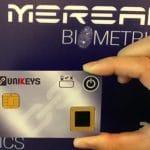 Unikeys-fingerprint-card-Mereal-Biometrics