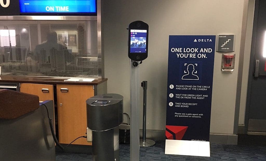 Delta's biometric boarding pilot lands in Detroit