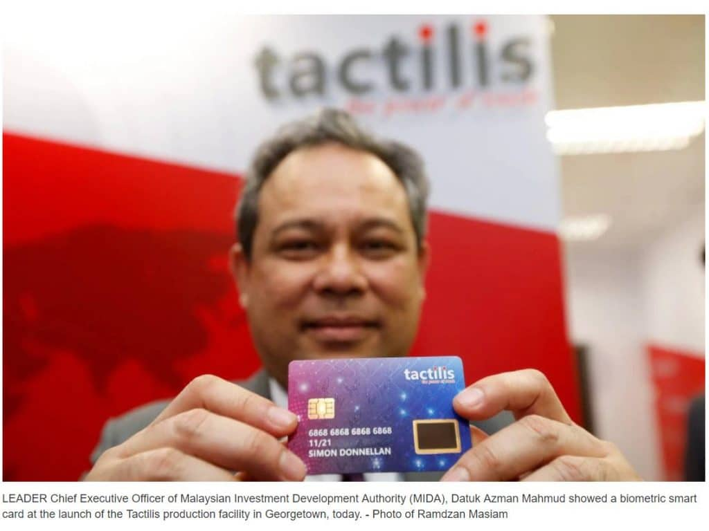 Three new biometric card pilots will feature NEXT Biometrics fingerprint sensors