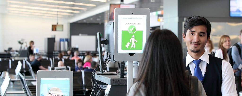 Metropolitan Washington Airports Authority and CBP unveil new biometric screening system