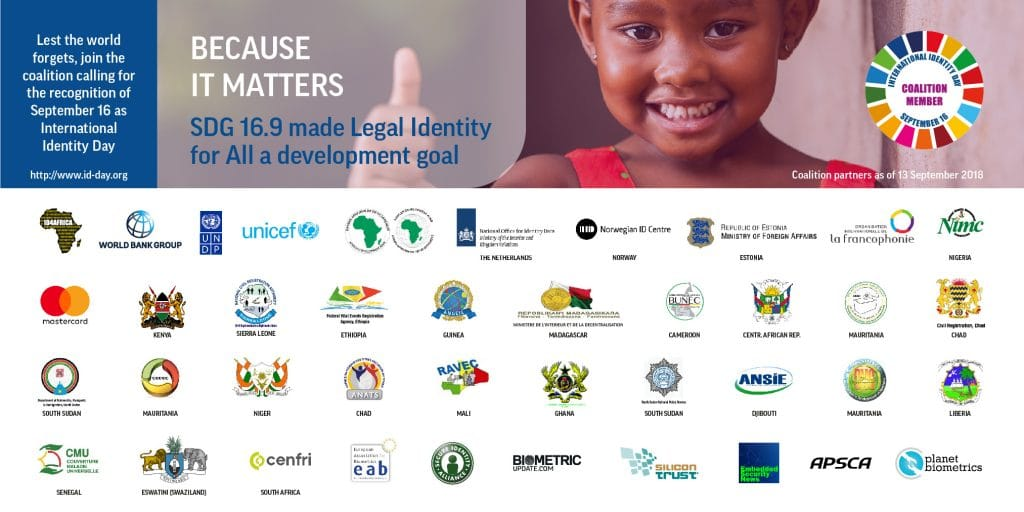 Coalition supporting September 16 as International Identity Day reaches 40 groups