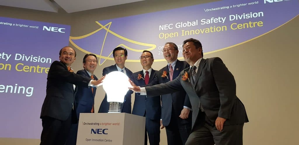 NEC opens innovation center in Singapore