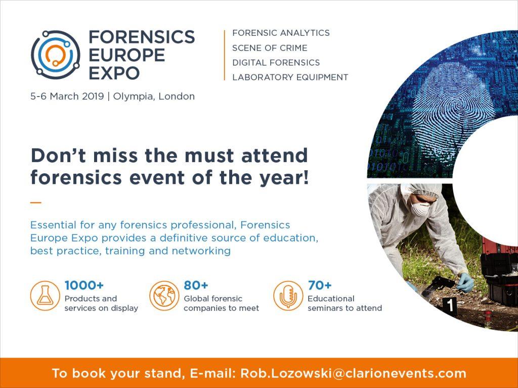 Forensics Europe Expo 2019
