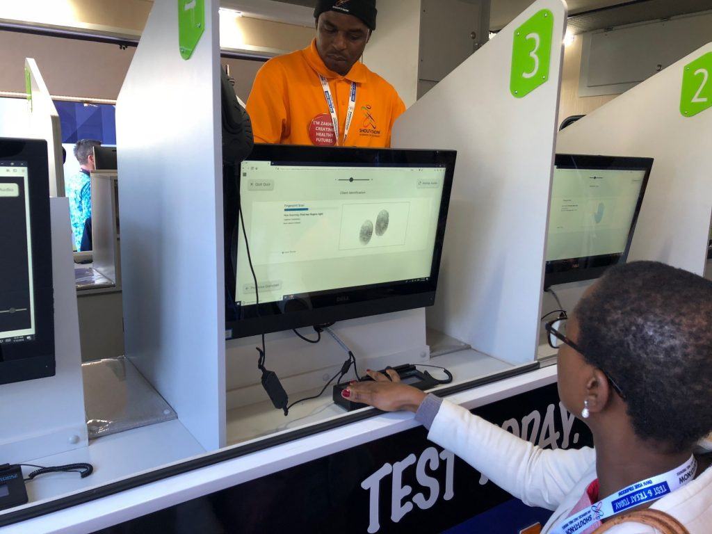 Integrated Biometrics tech enables anonymous mobile HIV testing in South Africa