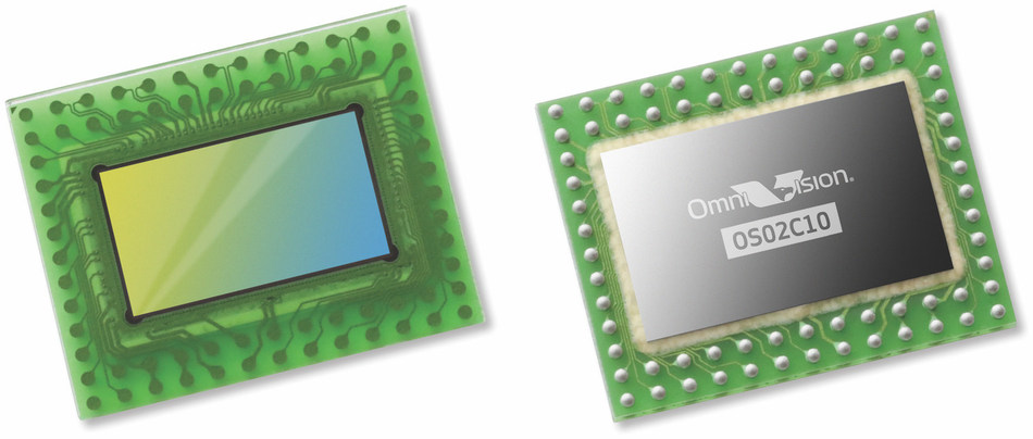New OmniVision image sensor supports on-camera facial recognition in darkness