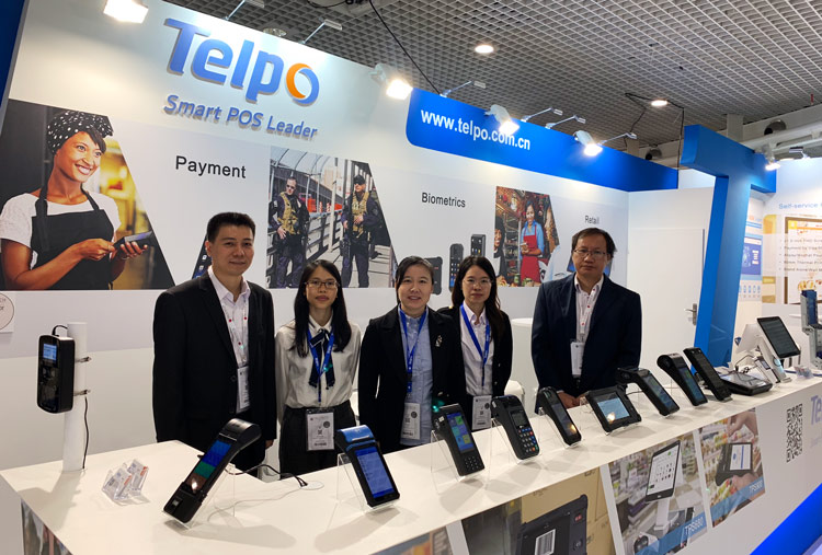 Telpo exhibits, discusses biometric payments at Trustech