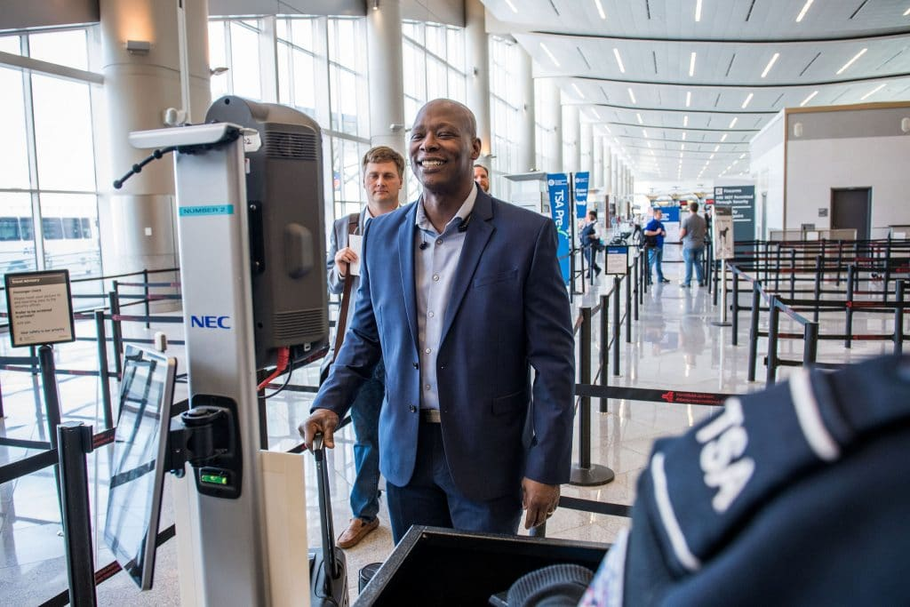 Delta's biometric terminal unveiled in Altanta, announced for Detroit