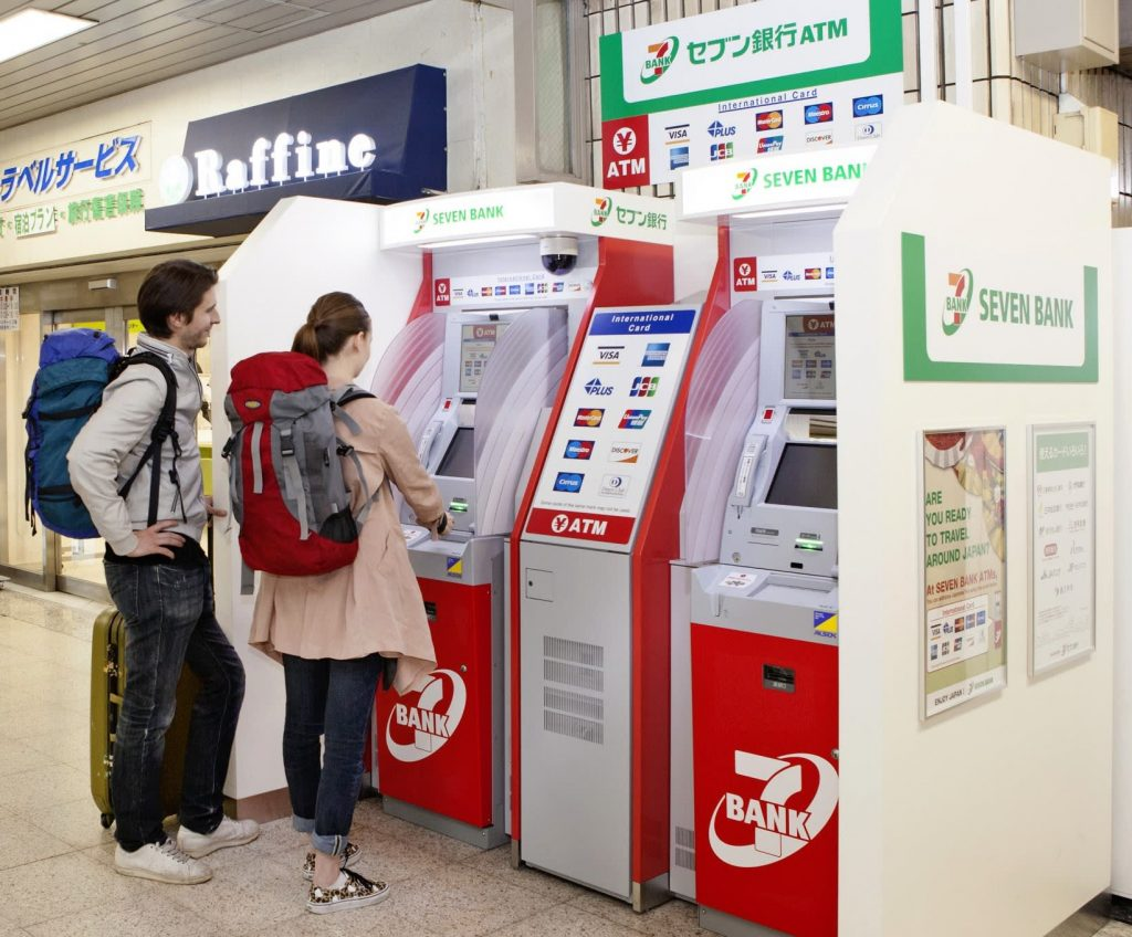 Japanese bank introducing biometric ATMs to open accounts