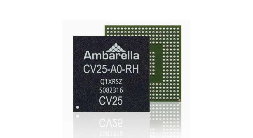 Ambarella launches camera processor for real-time facial recognition on edge devices