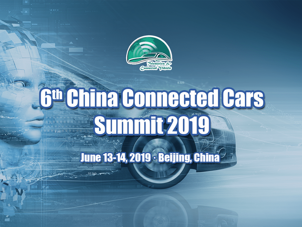 6th China Connected Vehicles Summit 2019