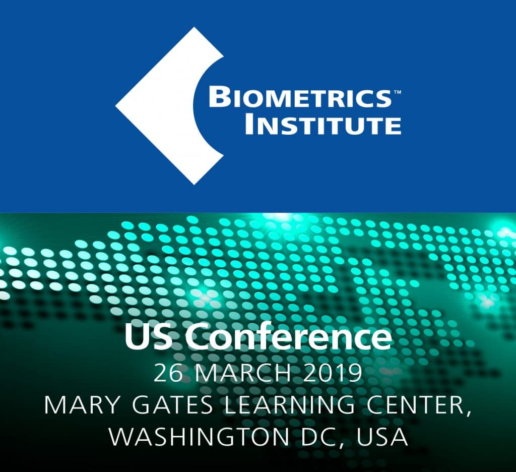 Biometrics Institute US Conference 2019