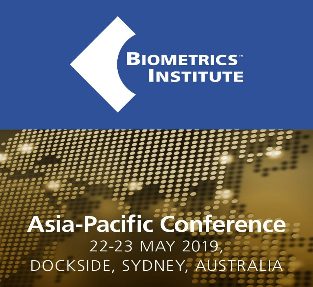 Biometrics Institute Asia-Pacific Conference 2019