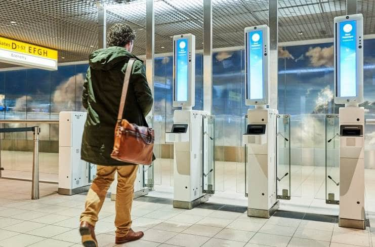 Schiphol-Airport-starts-facial-recognition-boarding-using-Vision-Box-platform