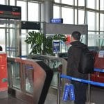 Huangshan-Airport-biometric-boarding