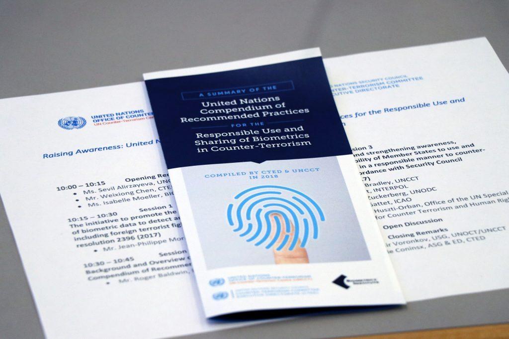 Biometrics Institute briefs UN member states on counter-terrorism compendium and next steps