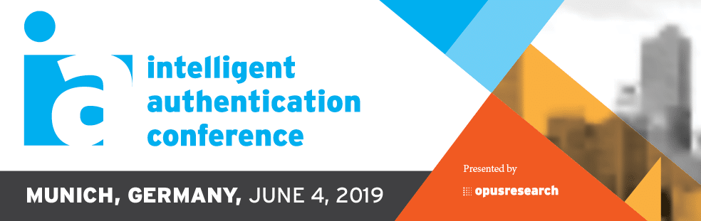 2019 Intelligent Authentication Conference