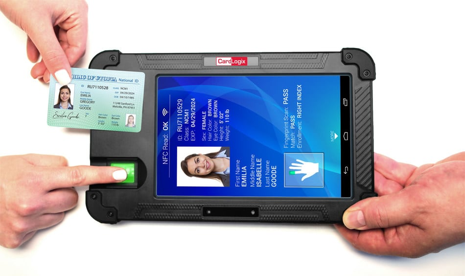 CardLogix launches tablet for mobile multi-modal biometric verification and enrollment