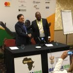 ID4Africa 2019 opening press conference ID4Africa Executive Chairman Dr. Joseph Atick and Acting Director General of South Africa's Department of Home Affairs Thulani Mavuso
