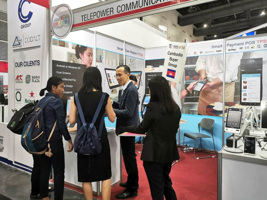 Telpo biometric technology showcased at ASEAN Retail 2019