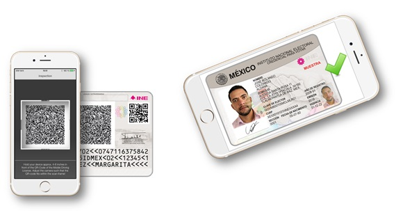 Veridos Mexico voter ID cards