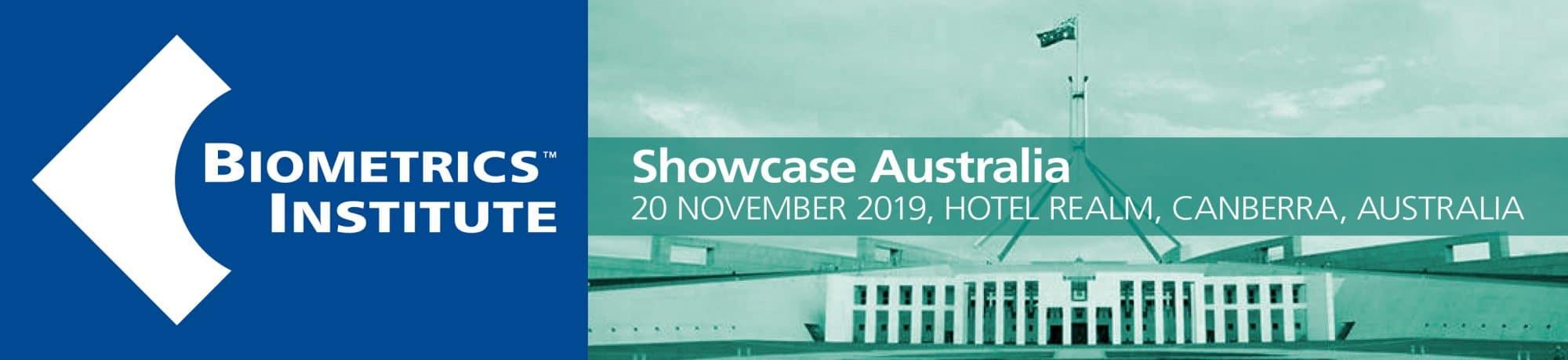Biometrics Institute Showcase Australia 2019 large