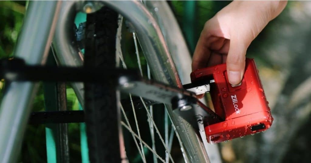 Crowdfunding campaign for biometric bike lock raises 10 times goal with 25 days to go