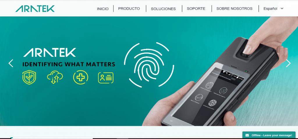 Aratek rolls out Spanish website to better serve global customer base
